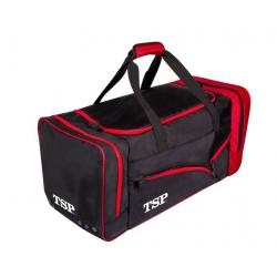 TSP Sporttas Akira Travel * zwart-rood