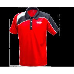 TSP Shirt Akemi rood-zwart
