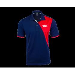 TSP Shirt Tameo Katoen navy-rood