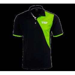 TSP Shirt Tameo Katoen zwart-groen