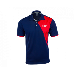 TSP Shirt Tameo Polyester navy-rood