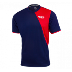 TSP T-Shirt Tameo navy-rood