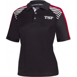 TSP Shirt Kuma Lady zwart-rood