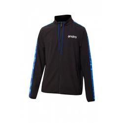 Andro Trainingsvest Lennox zwart-blauw