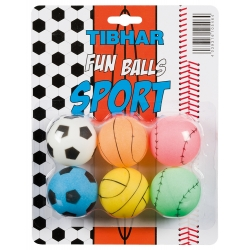 Tibhar Funballs Sports 40mm (6)