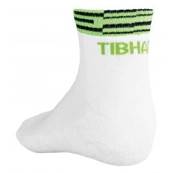 Tibhar Sokken Line wit-groen
