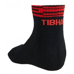 Tibhar Sokken Line zwart-rood