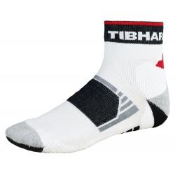 Tibhar Sokken Tech wit-zwart-rood