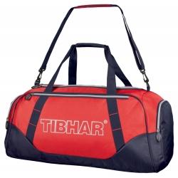 Tibhar Sporttas De Luxe * rood-zwart