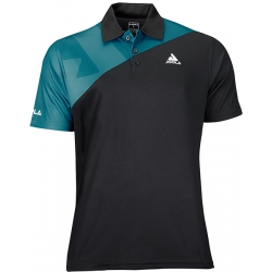 Joola Shirt Ace Polyester zwart-petrol