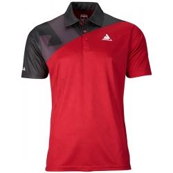 Joola Shirt Ace Katoen rood-zwart