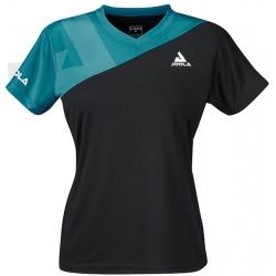 Joola Shirt Ace Lady zwart-petrol