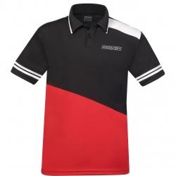 Donic Shirt Prime zwart-rood