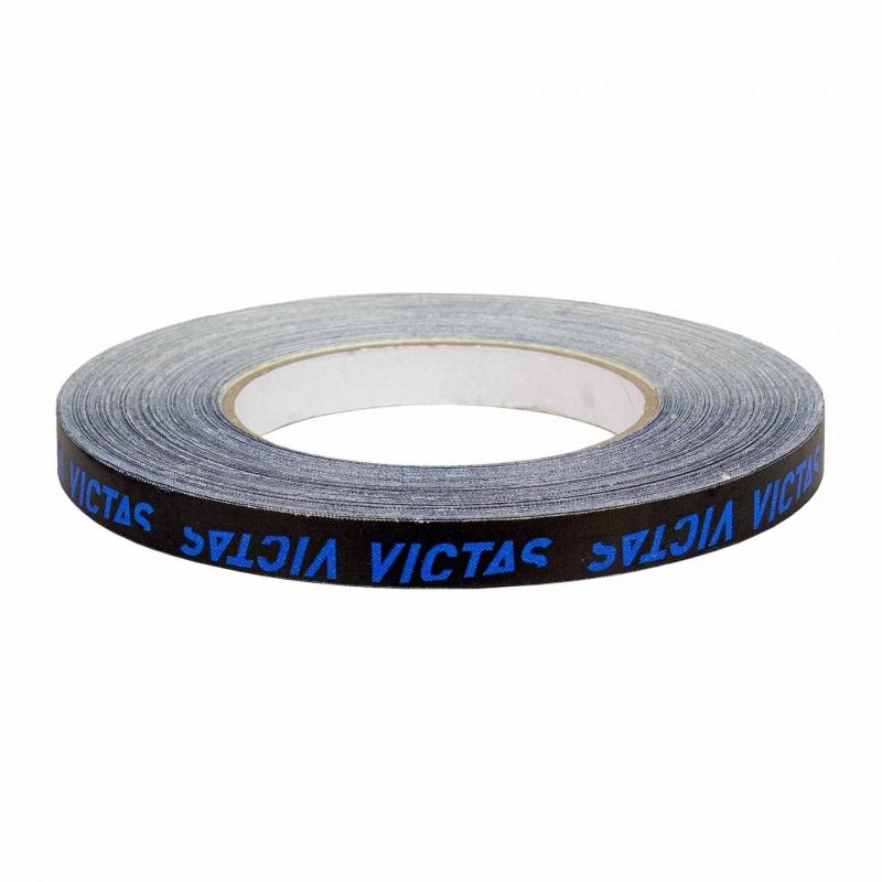 Victas Zijkantband zwart-blauw 12 mm x 50 m