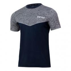 Victas V-T-Shirt 213 grijs-melange
