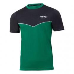 Victas V-T-Shirt 213 groen-anthraciet