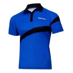 Victas V-Shirt 215 blauw-zwart