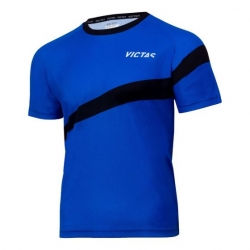 Victas V-T-Shirt 217 blauw-zwart