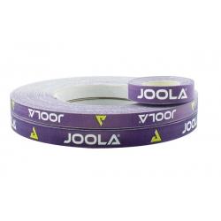 Joola Zijkantband paars-wit 12 mm x 50 m