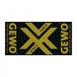 Gewo Handdoek Nexxus zwart-goud