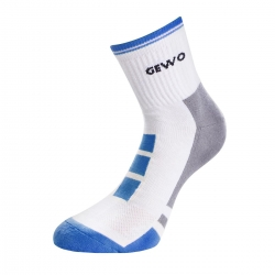 Gewo Sokken Step Flex II wit-blauw