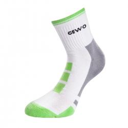 Gewo Sokken Step Flex II wit-groen