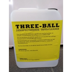 Three-Ball Desinfecterende Tafelcleaner 5 liter