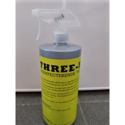 4x Three-Ball Desinfecterende Tafelcleaner 1 liter