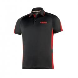 Gewo Shirt Carva zwart-rood * L