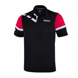 Gewo Shirt Livias zwart-rood