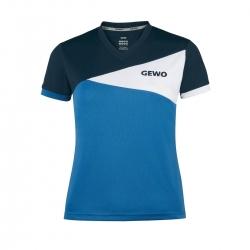 Gewo Shirt Anzio Lady navy-wit-blauw * XS - S