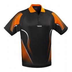 Tibhar Shirt Magic zwart-oranje * XXS