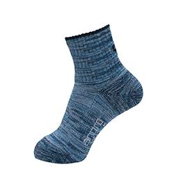 Andro Sportsokken Melange blauw