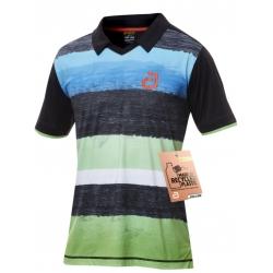 Andro Shirt Devlin zwart-groen