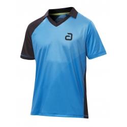 Andro Shirt Campell blauw-zwart