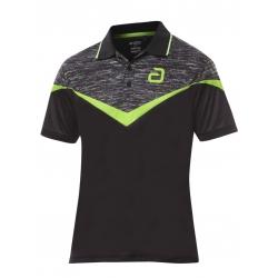 Andro Shirt Teslin zwart-groen