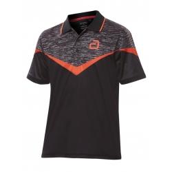 Andro Shirt Teslin zwart-rood