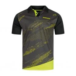 Donic Shirt Mega zwart-geel