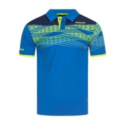 Donic Shirt Clashflex blauw-navy-geel