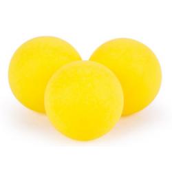 Blanco Ballen Fun Plastic Geel (100)