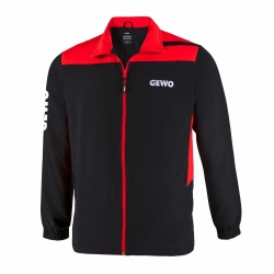 Gewo Trainingsvest Tramin zwart-rood