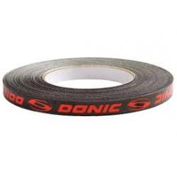 Donic Zijkantband rood-zwart-wit 50 m