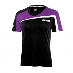 Gewo Shirt Teramo Promo Lady S18-3 zwart-paars