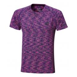 Andro Shirt Melange Multicolor paars-zwart