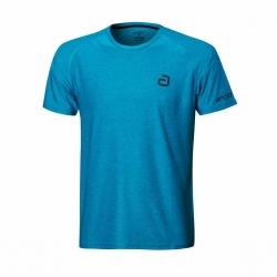 Andro Shirt Melange Alpha Casual blauw