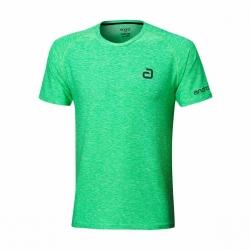 Andro Shirt Melange Alpha Casual groen