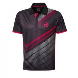 Andro Shirt Liska zwart-rood
