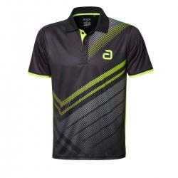 Andro Shirt Liska zwart-geel