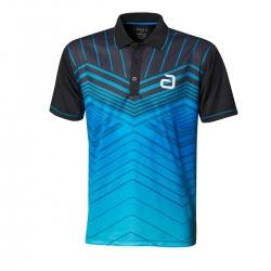 Andro Shirt Letis blauw-zwart