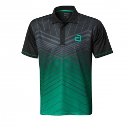 Andro Shirt Letis groen-zwart